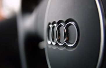 Audi-Logo-on-Car