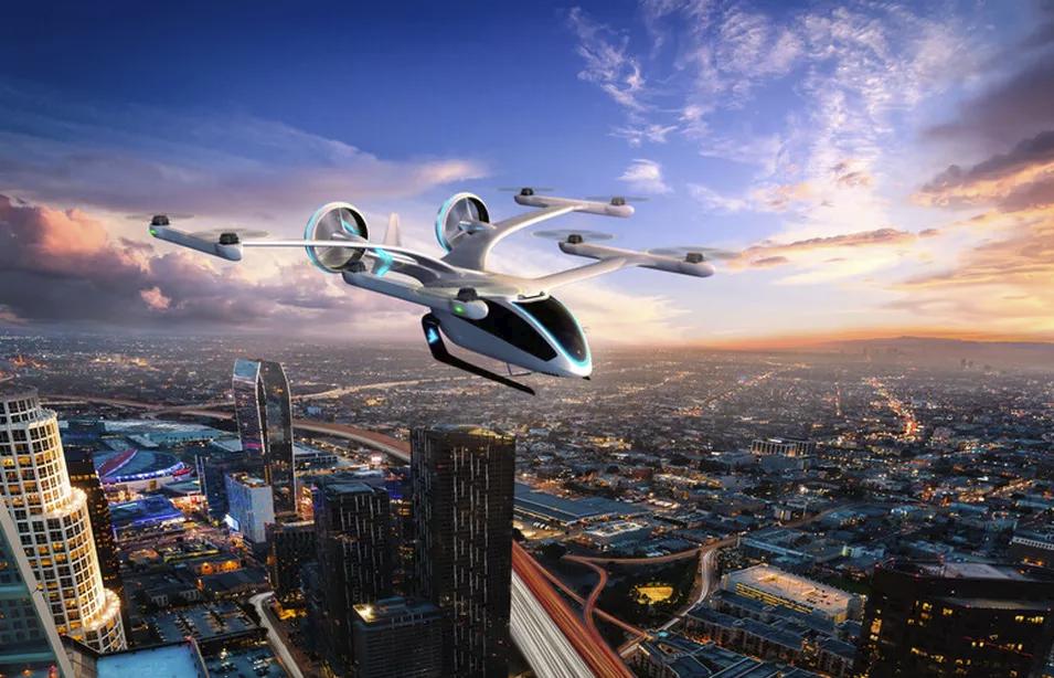Mobilidade urbana aérea